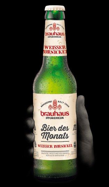 Brauhaus, bir des monats, Weisser Zornikel