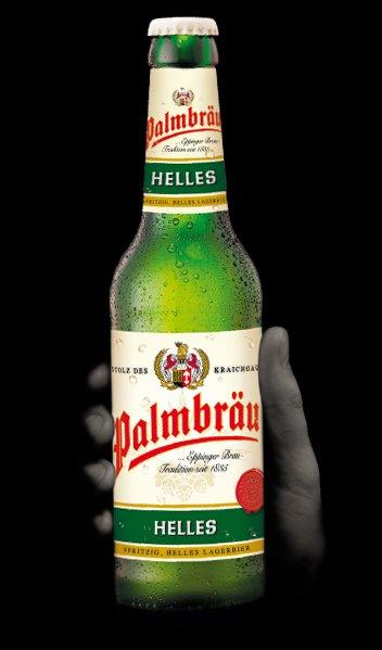 bottiglia di Palmbrau Helles