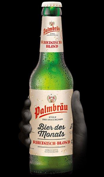 Palmbrau ,bier des monats, Rheinisch blond