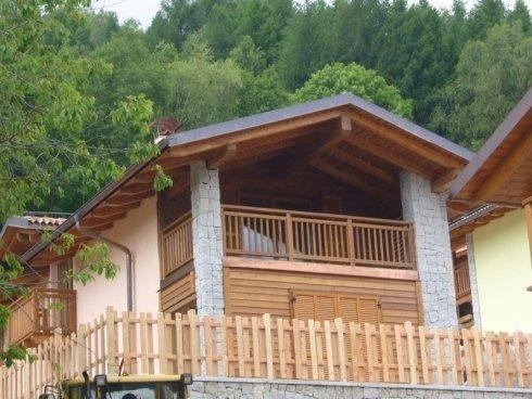 parapetto in legno, steccato in legno