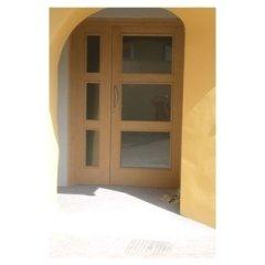 porta ingresso, portone a battenti