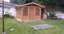 casette in legno, gazebi in legno