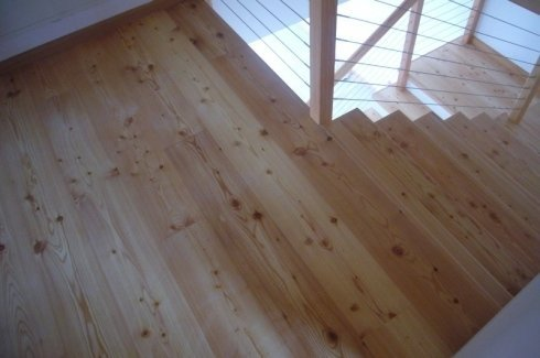 rivestimento per la casa, scale in legno