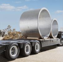 trasporto grandi dimensioni, trasporti con sponda idraulica, trasporti speciali