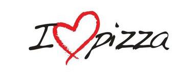 I LOVE PIZZA - Logo