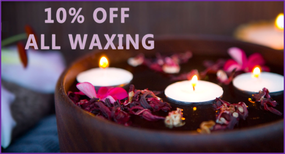 10% off all waxing