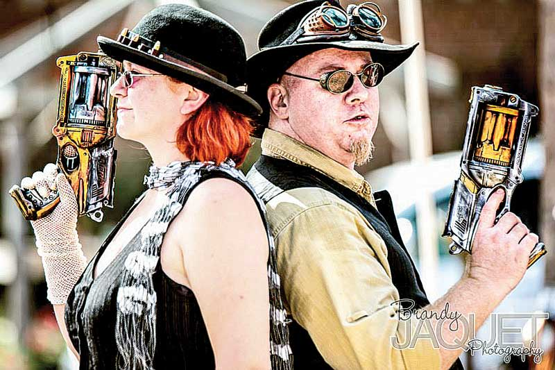Hannibal MO Steampunk Nerf Duel