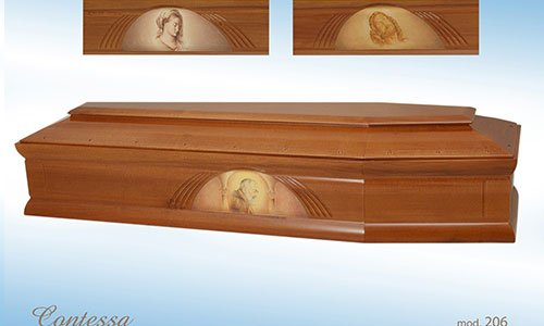 Bara raffigurante Padre Pio, Gesu' e la Madonna
