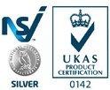 NSI / UKAS logo