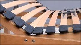 doghe per letto in legno