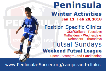 Peninsula Youth Soccer Camps