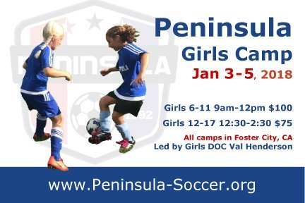 Girls Youth Soccer Camps