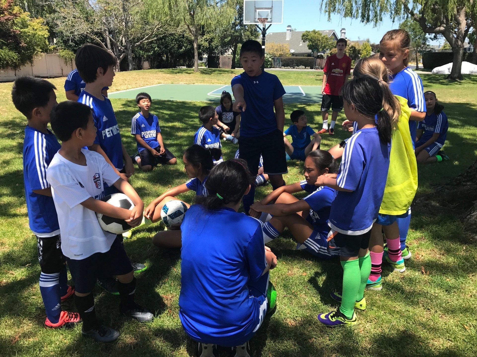Peninsula Youth Soccer - Summer Camp!