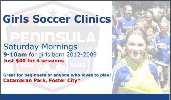 Girls Youth Soccer Clinics