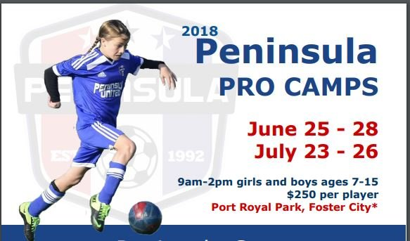 Peninsula Youth Soccer Pro Camps