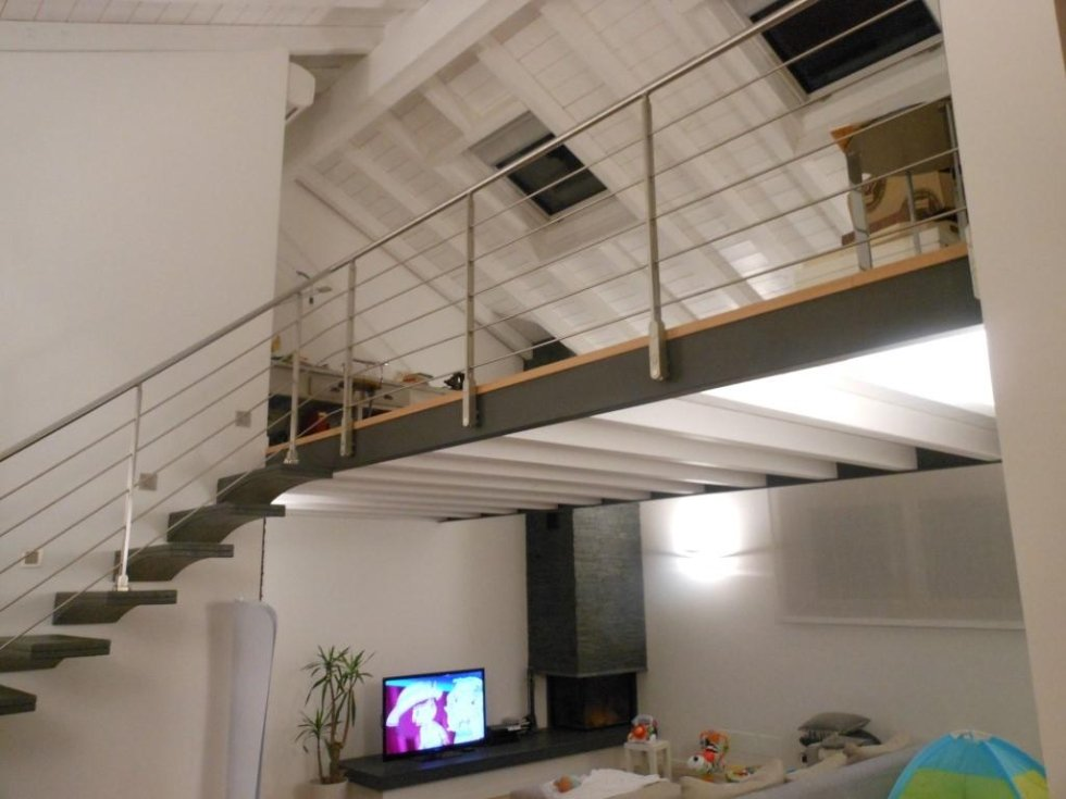 interno villa 2-soppalco