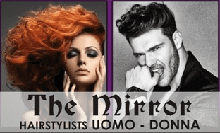 THE MIRROR HAIRSTYLIST - LOGO