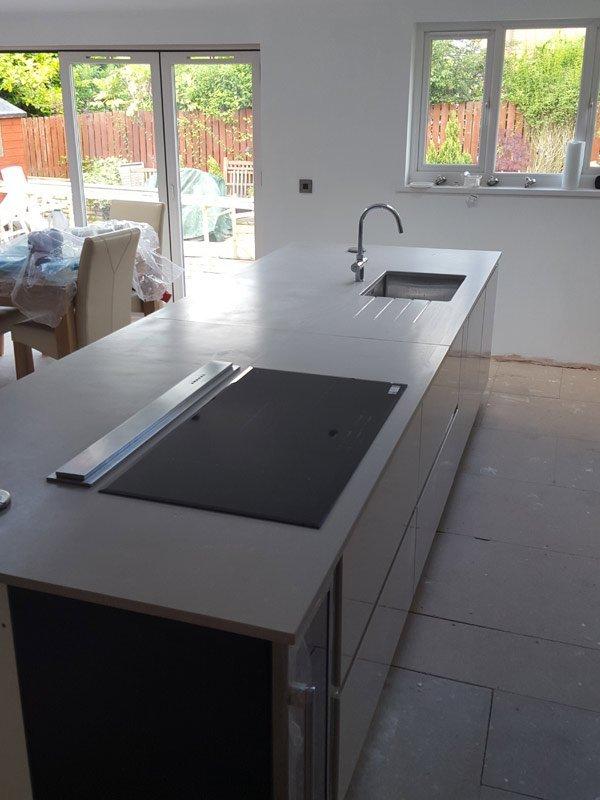 Attractive kitchen worktop