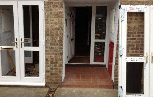 double glazed doors