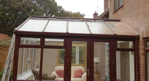 after conservatory repairs