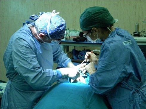 intervento di chirurgia orale