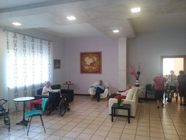 sala casa di riposo