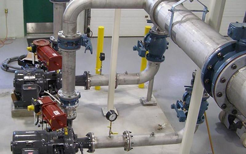 installazione impianti idrici industriali