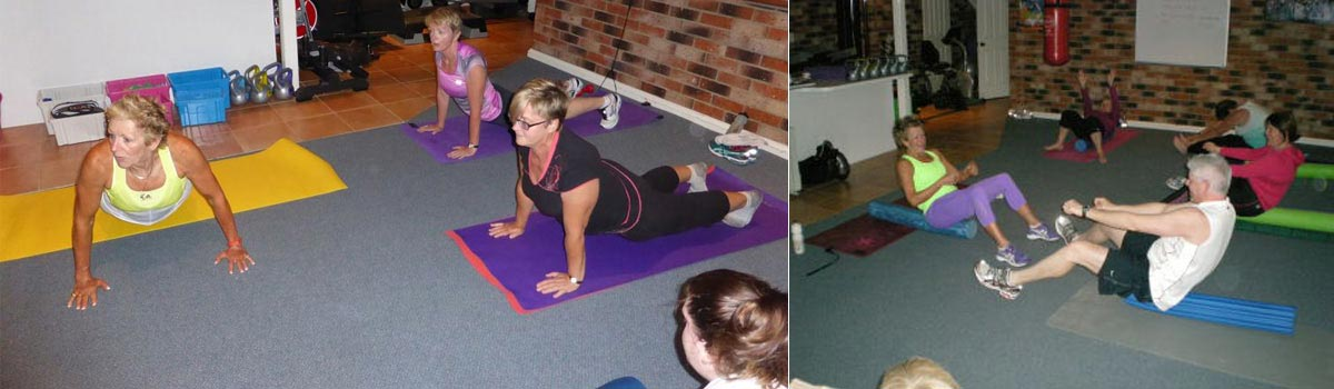 One of our Pilates classes in Canberra