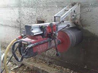 carotaggio nel cemento