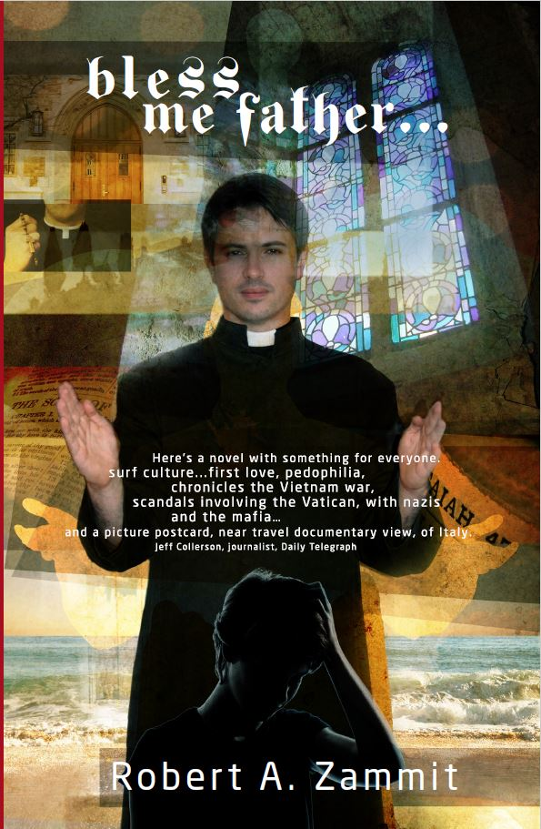 Vie of the front cover of Bless Me Father
