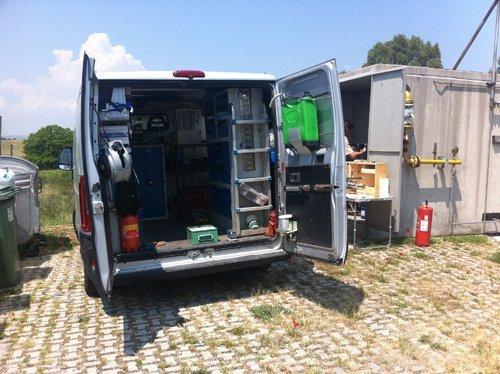 camion Sfera per manutenzione