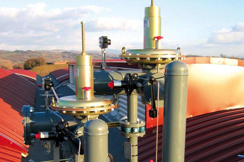 impianti gas per l`edilizia