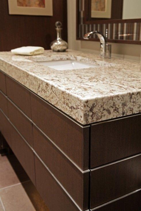 Top in marmo per il bagno