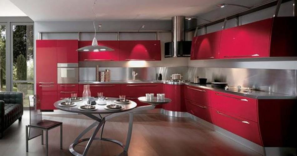 Cucine rosse