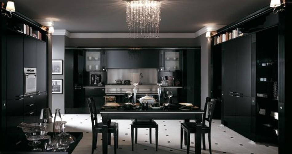 Cucina scura