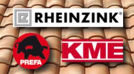 impermeabilizzanti rheinzink, prodotti isolanti Kme, prodotti Prefa