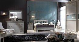 Camera da letto laccata in legno