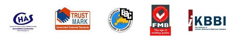 CHAS FMB TRUSTMARK KBBI logos