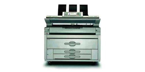 stampante bianca