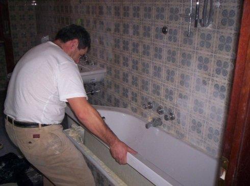 sovravasca nella vasca