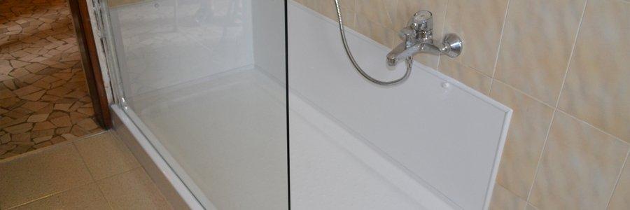 da vasca ad ampia doccia