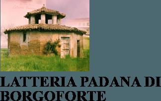 LATTERIA PADANA DI BORGOFORTE- Logo