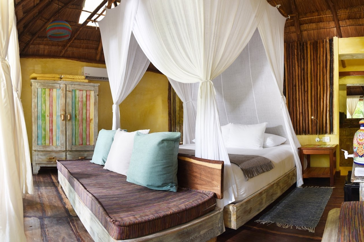 Beach Cabanas Tulum Mexico King Bed
