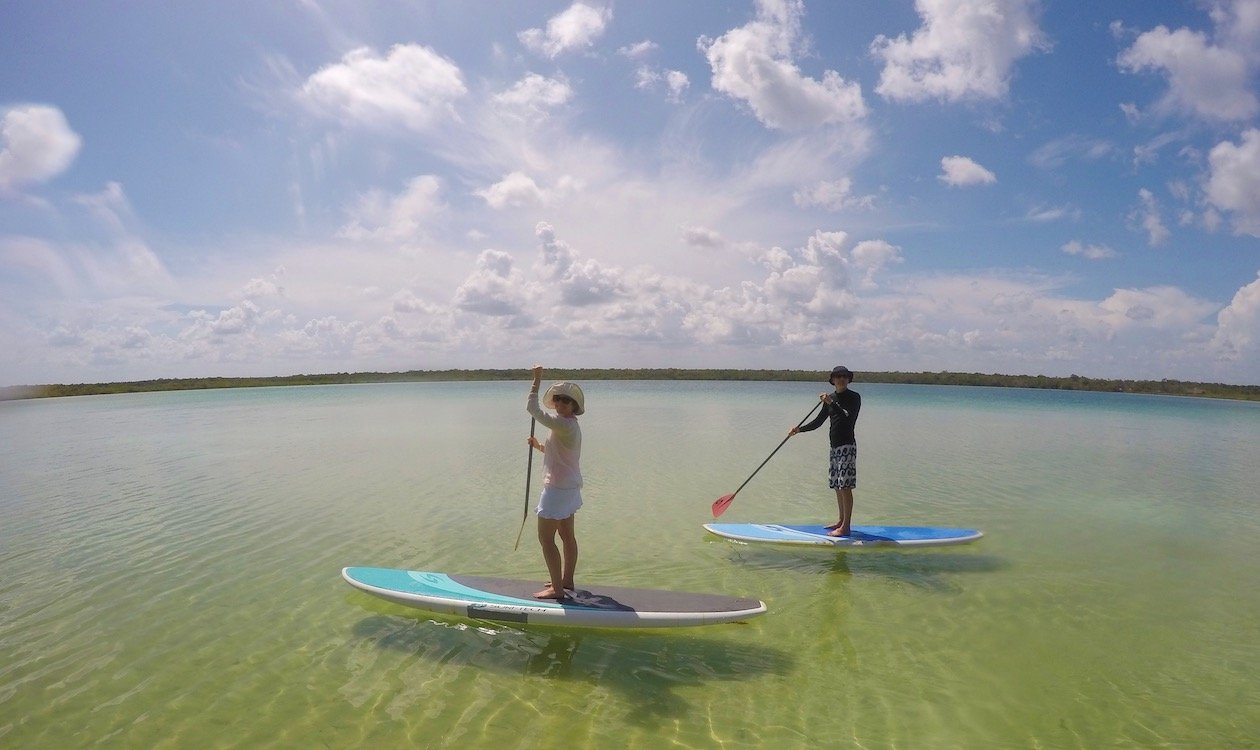 Villa Pescadores - Things to do in Tulum - Stand Up Paddle Tulum