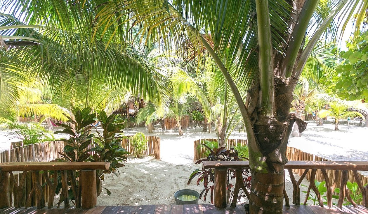 Beach Cabanas Tulum Mexico - Garden View
