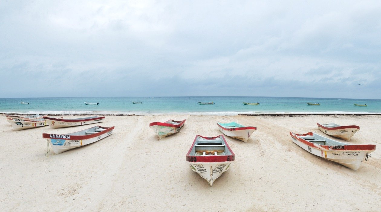 Tulum Beach - Playa Pescadores