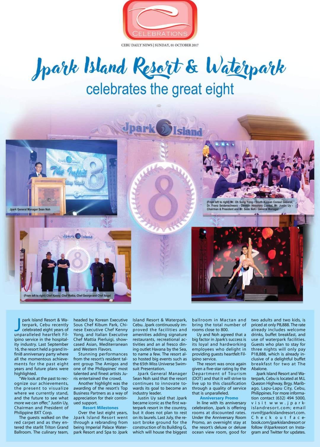A Festive Chinese New Year Celebration at Jpark Island Resort