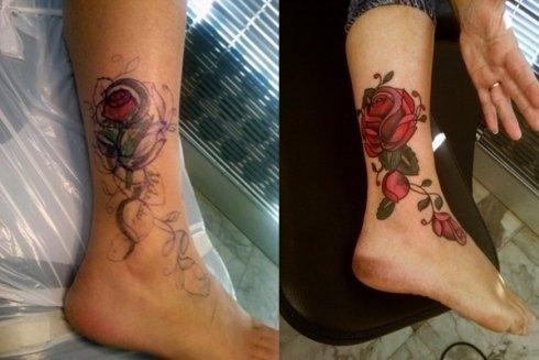 Ingrandimento tatuaggi