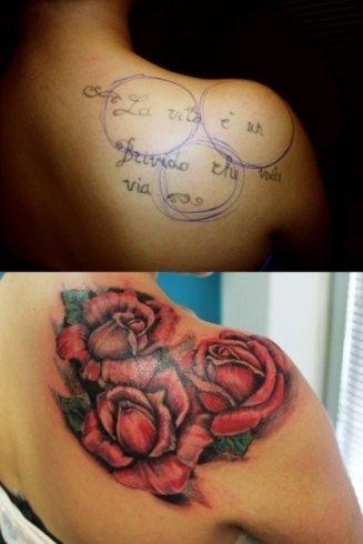 Copertura vecchi tatuaggi