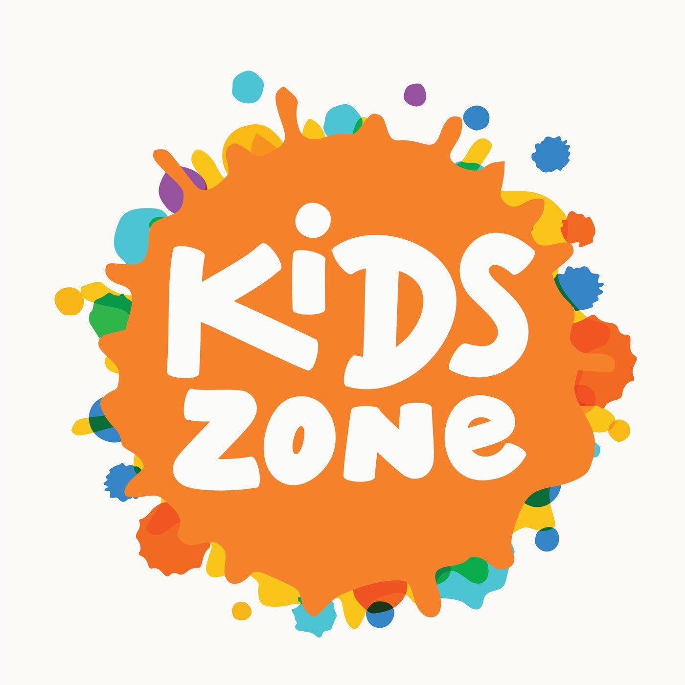 Kids zone banner